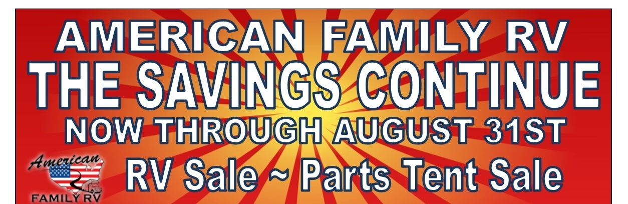 American Family RV Summer Super Sale Pricing